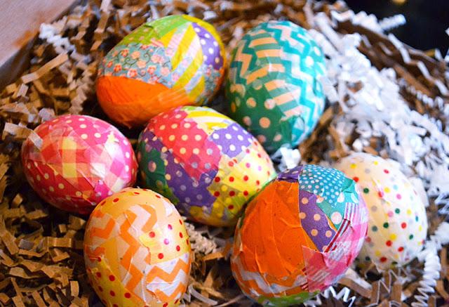huevos papel