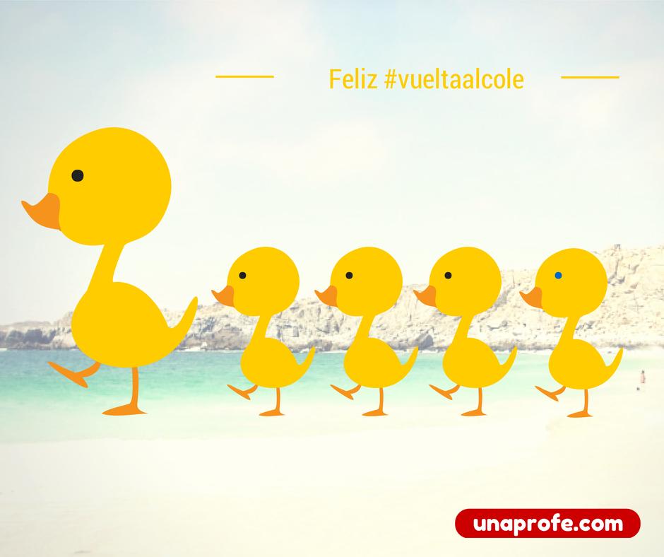 Feliz #vueltaalcole