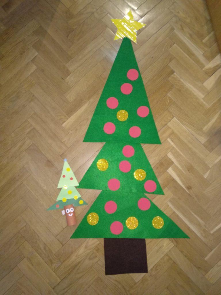Los tres árboles de Navidad