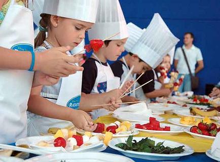 H bitos saludables en la alimentaci n de nuestros alumnos for Cocina divertida para ninos
